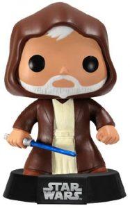 Figura FUNKO POP de Obi Wan Kenobi Viejo - Figuras de acción y muñecos de Obi-Wan Kenobi
