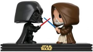 Figura FUNKO POP de Obi Wan Kenobi vs Darth Vader - Figuras de acción y muñecos de Obi-Wan Kenobi