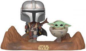 Figura FUNKO POP de The Mandalorian y Baby Yoda - Figuras de acción y muñecos de The Mandalorian de Star Wars