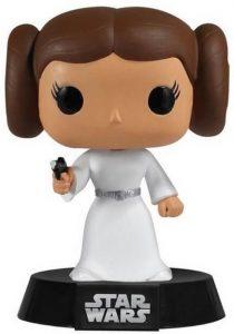 Figura FUNKO POP de la princesa Leia clásica - Figuras de acción y muñecos de Leia Organa