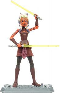 Figura de Ahsoka Tano de Star Wars de Clone Wars - Figuras de acción y muñecos de Ahsoka Tano de Star Wars