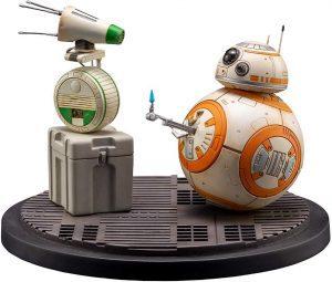 Figura de BB8 y D-O de Star Wars de Kotobukiya - Figuras de acción y muñecos de BB8 de Star Wars