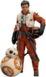 Figura de BB8 y Poe Dameron de Star Wars de Kotobukiya - Figuras de acción y muñecos de BB8 de Star Wars