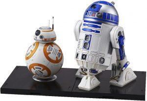 Figura de BB8 y R2-D2 de Star Wars de Bandai - Figuras de acción y muñecos de BB8 de Star Wars