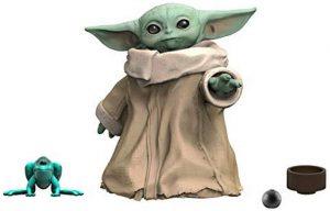 Figura de Baby Yoda de Star Wars de Hasbro 2 - Figuras de acción y muñecos de Baby Yoda de The Mandalorian de Star Wars