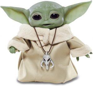 Figura de Baby Yoda de Star Wars de Hasbro - Figuras de acción y muñecos de Baby Yoda de The Mandalorian de Star Wars