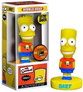 Figura de Bart Simpson de Bobble Head - Muñecos de Bart Simpson de los Simpsons - Figuras de acción de los Simpsons