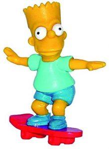 Figura de Bart Simpson de Comansi - Muñecos de Bart Simpson de los Simpsons - Figuras de acción de los Simpsons