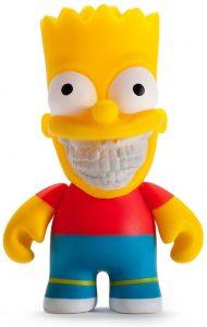 Figura de Bart Simpson de English - Muñecos de Bart Simpson de los Simpsons - Figuras de acción de los Simpsons