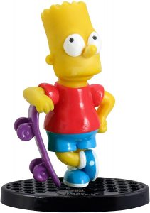 Figura de Bart Simpson de Toy Zany - Muñecos de Bart Simpson de los Simpsons - Figuras de acción de los Simpsons