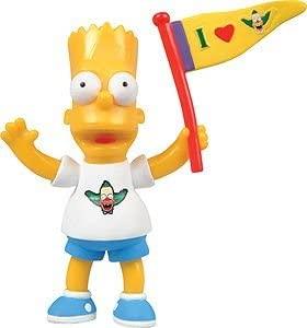 Figura de Bart Simpson de Winning Movies - Muñecos de Bart Simpson de los Simpsons - Figuras de acción de los Simpsons