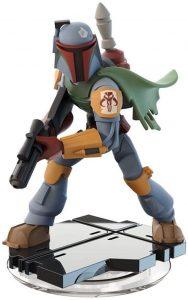 Figura de Boba Fett de Star Wars de Disney Infinity - Figuras de acción y muñecos de Boba Fett de Star Wars
