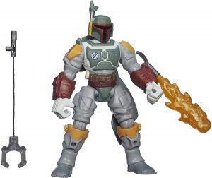 Figura de Boba Fett de Star Wars de Playset - Figuras de acción y muñecos de Boba Fett de Star Wars
