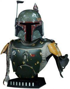 Figura de Boba Fett de Star Wars de Sideshow Busto - Figuras de acción y muñecos de Boba Fett de Star Wars