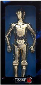 Figura de C-3PO de Star Wars de Collector - Figuras de acción y muñecos de C-3PO de Star Wars