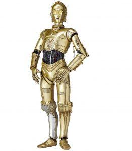 Figura de C-3PO de Star Wars de Kaiyodo 2 - Figuras de acción y muñecos de C-3PO de Star Wars