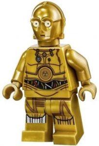 Figura de C-3PO de Star Wars de LEGO - Figuras de acción y muñecos de C-3PO de Star Wars