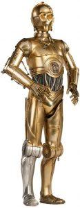 Figura de C-3PO de Star Wars de Sideshow 2 - Figuras de acción y muñecos de C-3PO de Star Wars