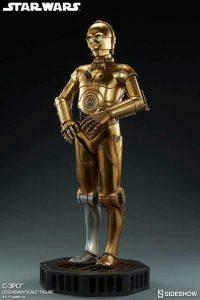 Figura de C-3PO de Star Wars de Sideshow 3 - Figuras de acción y muñecos de C-3PO de Star Wars