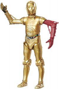 Figura de C-3PO de Star Wars de The Black Series 2 - Figuras de acción y muñecos de C-3PO de Star Wars