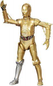Figura de C-3PO de Star Wars de The Black Series - Figuras de acción y muñecos de C-3PO de Star Wars