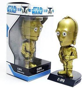 Figura de C-3PO de Star Wars de Wacky Wobbler 2 - Figuras de acción y muñecos de C-3PO de Star Wars