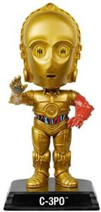 Figura de C-3PO de Star Wars de Wacky Wobbler - Figuras de acción y muñecos de C-3PO de Star Wars
