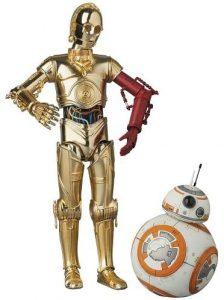 Figura de C-3PO y BB8 de Star Wars de Medicom - Figuras de acción y muñecos de C-3PO de Star Wars