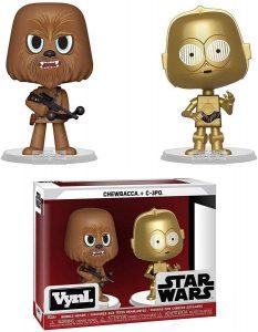 Figura de C-3PO y Chewbacca de Star Wars de Vynl - Figuras de acción y muñecos de C-3PO de Star Wars
