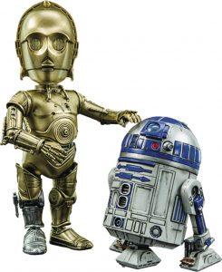Figura de C-3PO y R2-D2 de Star Wars de Herocross - Figuras de acción y muñecos de C-3PO de Star Wars