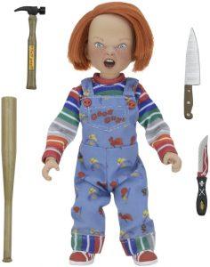 Figura de Chucky Retro de NECA - Figuras coleccionables y muñecos de la película de Chucky - el muñeco diabólico de Chucky