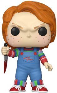Figura de Chucky de FUNKO POP de 25 cm - Figuras coleccionables y muñecos de la película de Chucky - el muñeco diabólico de Chucky