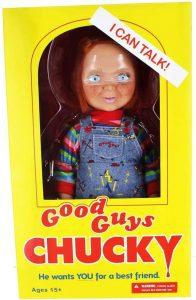 Figura de Chucky de Good Guys de Mezco Toyz - Figuras coleccionables y muñecos de la película de Chucky - el muñeco diabólico de Chucky