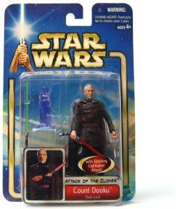 Figura de Conde Dooku de Star Wars de Hasbro - Figuras de acción y muñecos de Conde Dooku