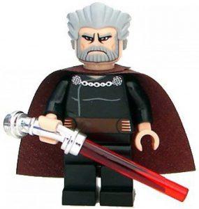 Figura de Conde Dooku de Star Wars de LEGO 2 - Figuras de acción y muñecos de Conde Dooku
