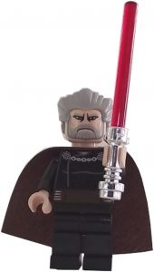 Figura de Conde Dooku de Star Wars de LEGO - Figuras de acción y muñecos de Conde Dooku