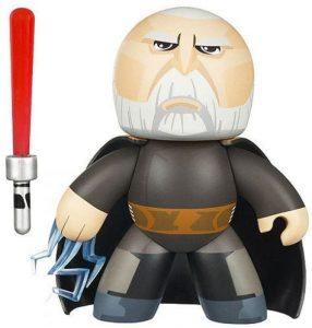 Figura de Conde Dooku de Star Wars de Mighty Muggs - Figuras de acción y muñecos de Conde Dooku