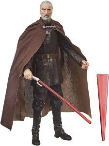 Figura de Conde Dooku de Star Wars de The Black Series - Figuras de acción y muñecos de Conde Dooku