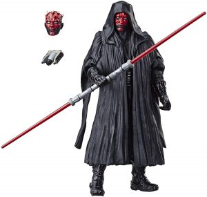 Figura de Darth Maul de Star Wars de Hasbro Black Series - Figuras de acción y muñecos de Darth Maul de Star Wars