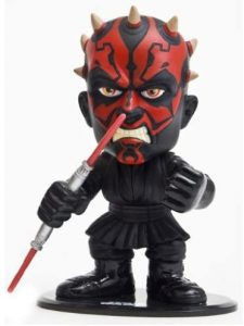 Figura de Darth Maul de Star Wars de Joy Toy - Figuras de acción y muñecos de Darth Maul de Star Wars