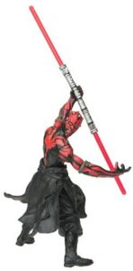 Figura de Darth Maul de Star Wars de Power - Figuras de acción y muñecos de Darth Maul de Star Wars