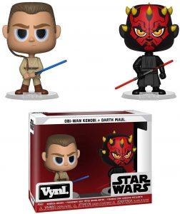 Figura de Darth Maul y Obi Wan Kenobi de Star Wars de Vynl - Figuras de acción y muñecos de Darth Maul de Star Wars
