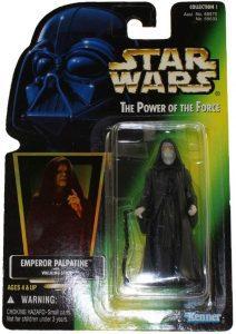 Figura de Darth Sidious de Star Wars de Kenner - Figuras de acción y muñecos de Darth Sidious y Emperador Palpatine de Star Wars