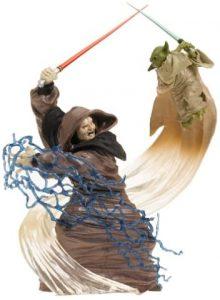 Figura de Darth Sidious vs Yoda de Star Wars de Hasbro - Figuras de acción y muñecos de Darth Sidious y Emperador Palpatine de Star Wars