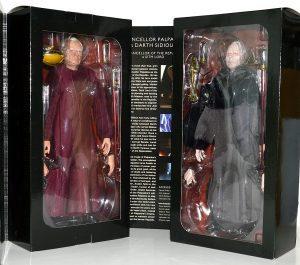 Figura de Darth Sidious y Palpatine de Star Wars de Sideshow - Figuras de acción y muñecos de Darth Sidious y Emperador Palpatine de Star Wars