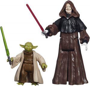 Figura de Darth Sidious y Yoda de Star Wars de Rebels - Figuras de acción y muñecos de Darth Sidious y Emperador Palpatine de Star Wars