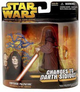 Figura de Emperador Palpatine de Star Wars de Hasbro 2 - Figuras de acción y muñecos de Darth Sidious y Emperador Palpatine de Star Wars