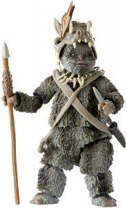 Figura de Ewok Teebo de Star Wars de The Black Series - Figuras de acción y muñecos de Ewoks de Star Wars