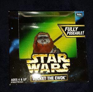 Figura de Ewok Wicket de Star Wars de Collection - Figuras de acción y muñecos de Ewoks de Star Wars