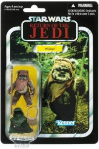 Figura de Ewok Wicket de Star Wars de Kenner - Figuras de acción y muñecos de Ewoks de Star Wars